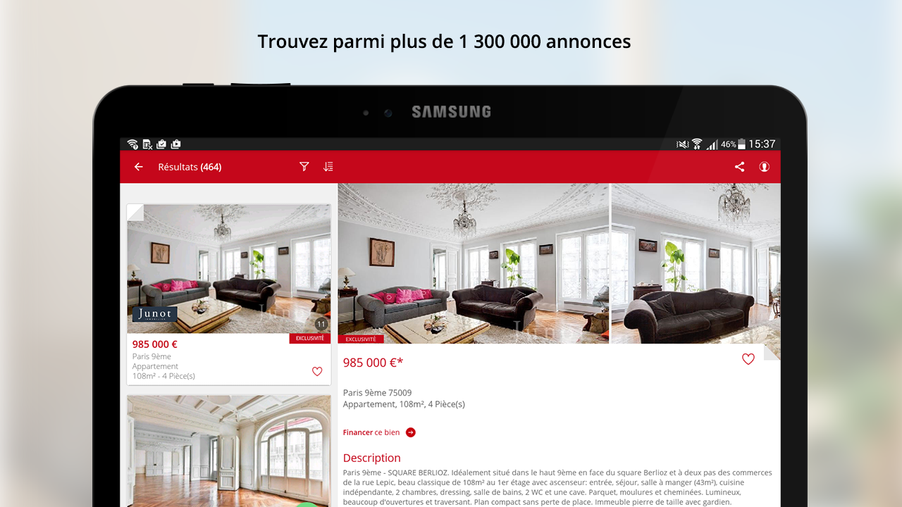 SeLoger - location, immobilier- screenshot