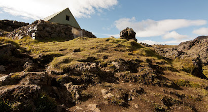 Photo: ... first and authentic hut in Landmannalaugar ...