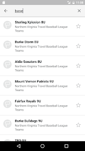 NV Travel Baseball League- screenshot thumbnail