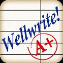 Wellwrite! Spelling test icon