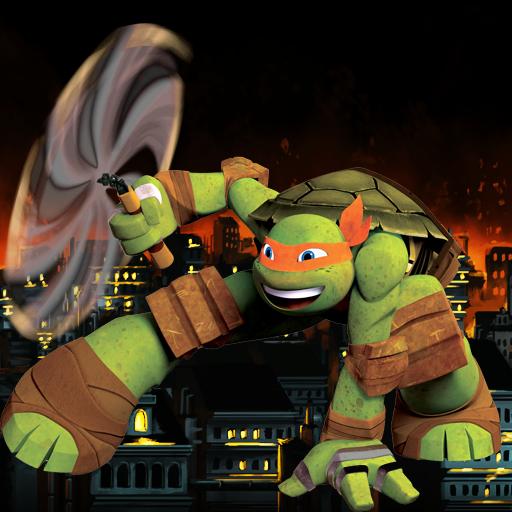 Turtles shadows ninja