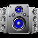 Volume booster speaker phone icon