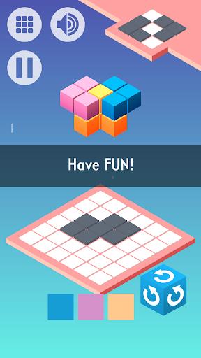 Shadows - 3D Block Puzzle 1.8 screenshots 1