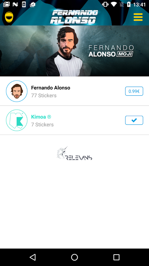 Fernando Alonso Emoji- screenshot