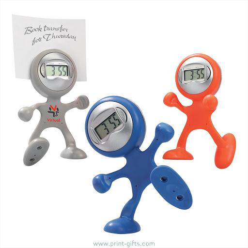 Bendyman Desktop Alarm Clock to Print