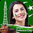 Pak Defence Day Profile Pic Maker, Pak Flag DP