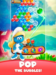 Smurfs Bubble Shooter Story 8