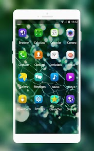 Water droplets Theme for Samsung Galaxy Y CDMA - náhled
