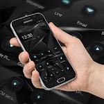 Black Technology Cool Theme, 3D neon HD wallpaper Icon