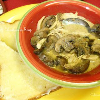 Turkey & Sautéed Mushroom Soup