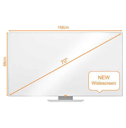 Whiteboard Nobo Widescreen 70""