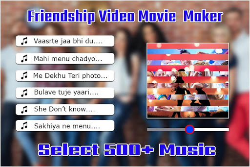 friendship  video maker : bff movie maker screenshot 3
