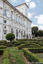 Photo: Villa Borghese belső kert