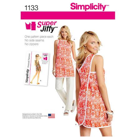 Förkläde och byxor, 70-tal, Simplicity 1133