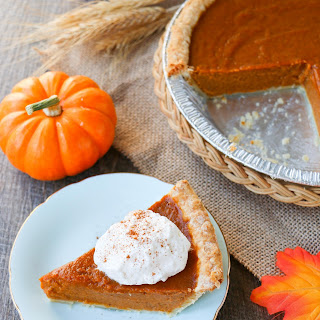 Super Easy Pumpkin Pie.