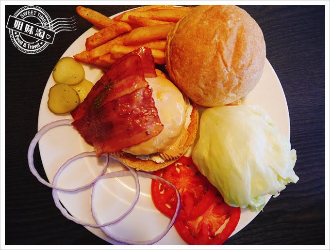布雷克漢堡-花生培根手工牛肉漢堡