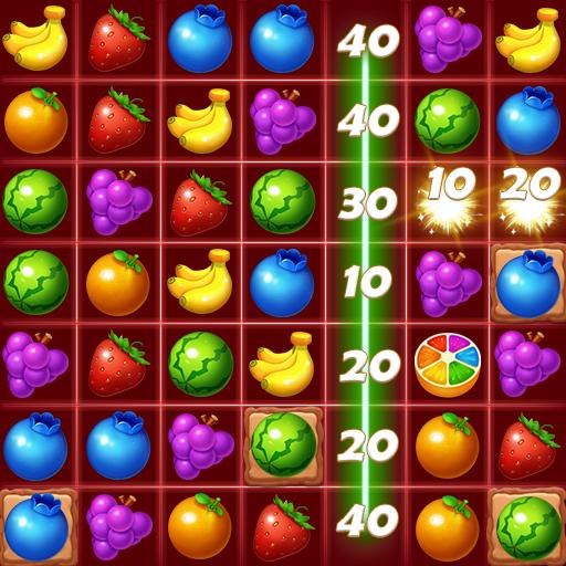 Juice Fruity Splash - Puzzle Game & Match 3 Games Icon