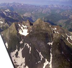 Photo: Vision à proximité du lac d'Artouste sur la face nord du pic Lurien 2826m.