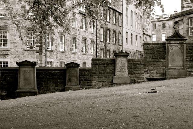 Photo: Graves at Greyfriars Kirkyard, Edinburgh