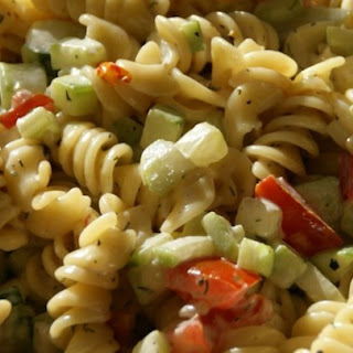 Best Ever Pasta Salad.