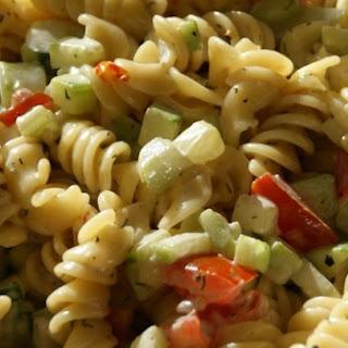 Best Ever Pasta Salad.