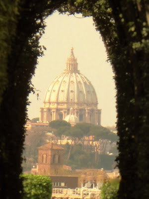Roma dalla serratura di Vale 90