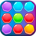 Merge Block Puzzle Games - Color Match Hexa Puzzle icon