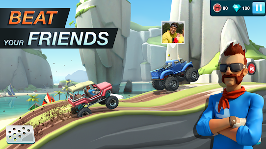 MMX Hill Dash 2 – Offroad Truck, Car & Bike Racing (MOD, Unlimited Gas/ Free Purchase) v9.00.12012 4