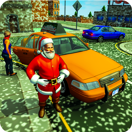 Baixar Santa Claus Cab Driving Game: Christmas Game 2019