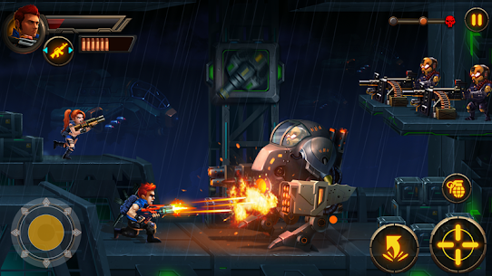 Metal Squad MOD 1.5.4 (Unlimited Coins/Bullets/HP/Bombs/No-Ads) Apk 1