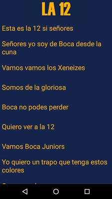 Canciones de la 12 - screenshot