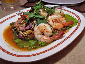 Photo: hot-and-sour shrimp salad
