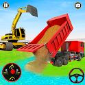 Grand Snow Excavator Simulator :Road Construction icon