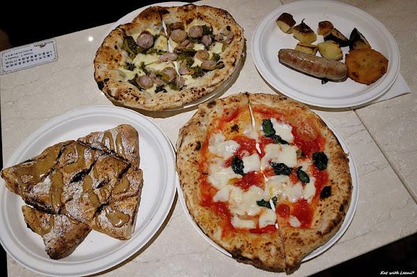 Solo Pizza Napoletana台北店‧拿坡里披薩世界冠軍-台北/中山/赤峰街