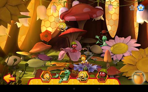 L'Ape Maia: Party dei fiori. Screenshot