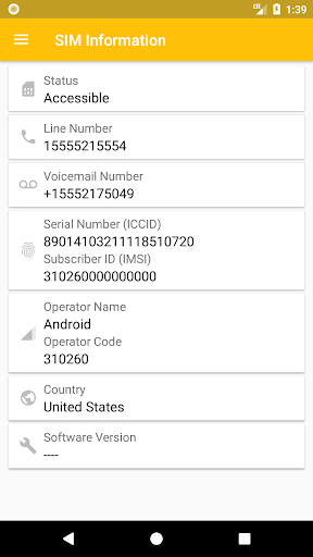 SIM Card Info - Apps on Google Play