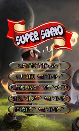 Super Sario Bubble Shooter
