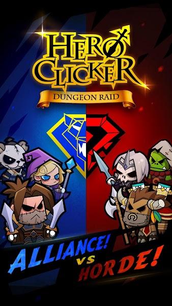 Hero Clicker – Dungeon Raid v1.6.1 [Mod]