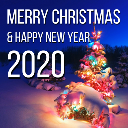 Merry Christmas Happy New Year Cards 2020 Aplikasi Di