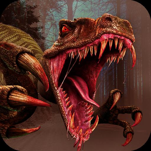 动作の恐竜狩り LOGO-記事Game