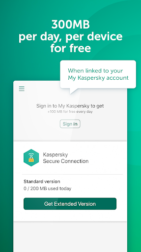 Fast Free VPN – Kaspersky Secure Connection screenshot 5