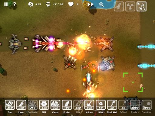 M.A.C.E. tower defense apkpoly screenshots 13