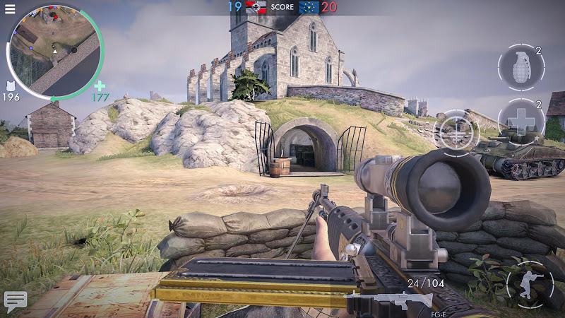 World War Heroes: WW2 Shooter Screenshot 1