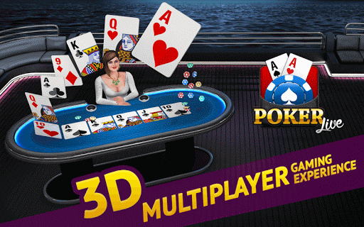 Poker Live! 3D Texas Hold'em  screenshots 1