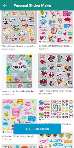 Personal Stickers screenshot 1