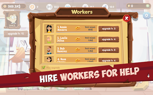 Mining Simulator - Idle Clicker Tycoon apktram screenshots 18
