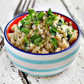 Lectin-Free Cilantro and Lime Cauliflower Rice Recipe