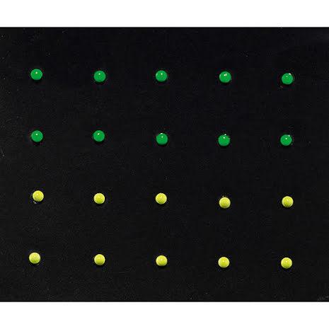 Dekorativa nagelstickers, Neon x10x10