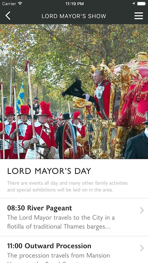 The Lord Mayor's Show 2016- screenshot
