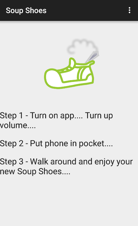 Soup Shoes- screenshot